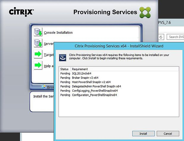 Installing Citrix Provisioning Services 7 6 Guide – JGSpiers com