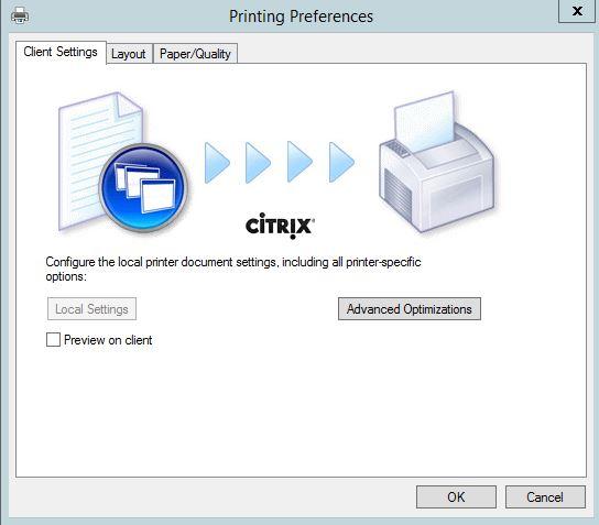 Citrix printing with Universal Print Server, Universal Print
