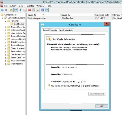 Configuring LDAPS on Citrix NetScaler – JGSpiers com