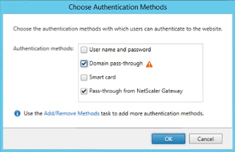Citrix Single Sign On with Receiver and Receiver for Web