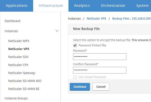 NetScaler backup and restore – JGSpiers com