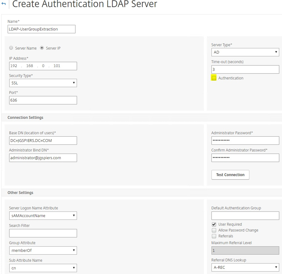 nFactor authentication with NetScaler Unified Gateway