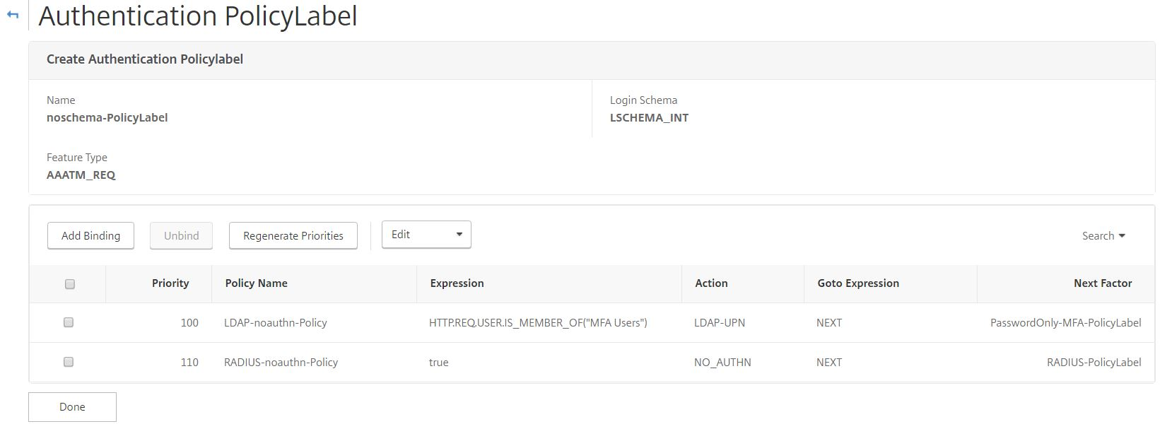 nFactor authentication with NetScaler Unified Gateway – JGSpiers com