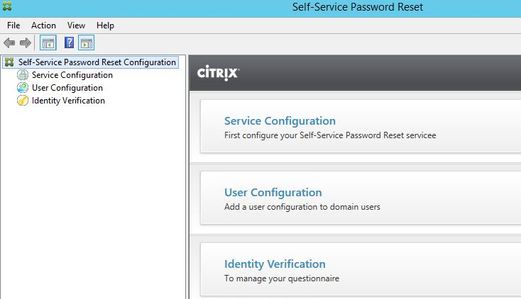 Citrix Self-Service Password Reset – JGSpiers com