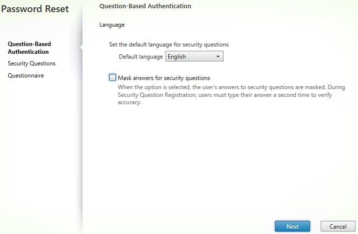 Citrix Self-Service Password Reset – JGSpiers com