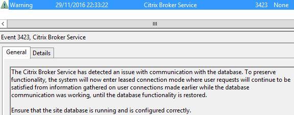 Citrix Connection Leasing – JGSpiers com