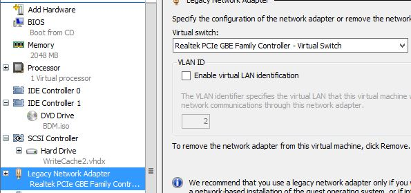 Speeding up Citrix PVS merge and boot times with VHDX, UEFI