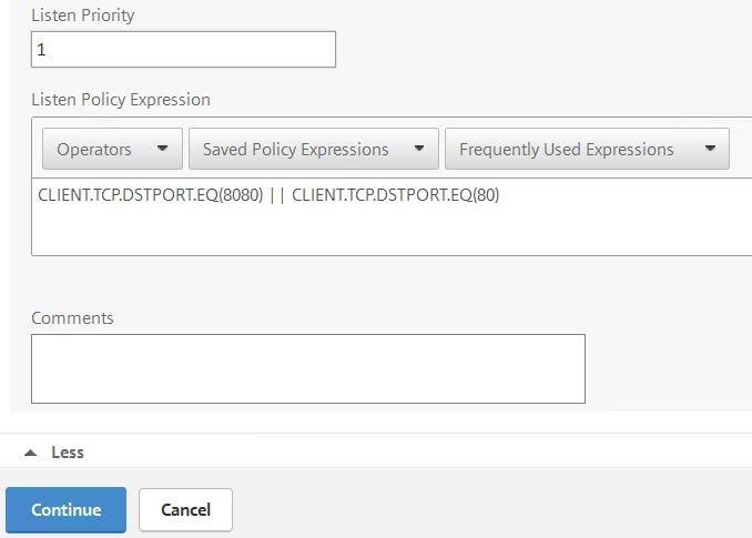 NetScaler Load Balance multiple ports on same vServer