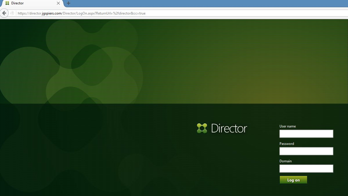 Citrix Director Jgspiers