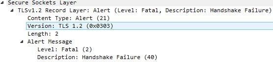 NetScaler Client Certificate SSL Handshake failure using