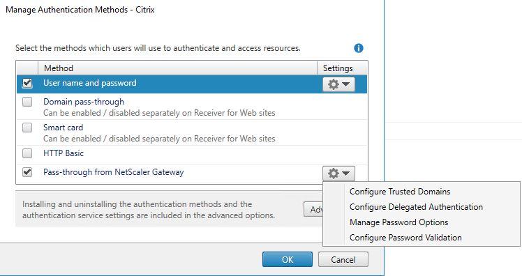 ADFS authentication to StoreFront using NetScaler, SAML and Citrix