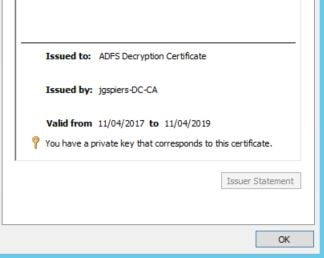 ADFS authentication direct to StoreFront 3 9 using SAML and