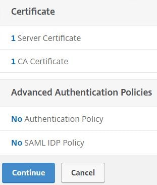 Single sign-on to Office 365 using NetScaler SAML and nFactor