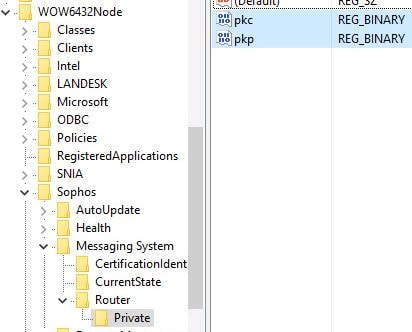 Citrix App Layering recipe for Sophos Endpoint Protection