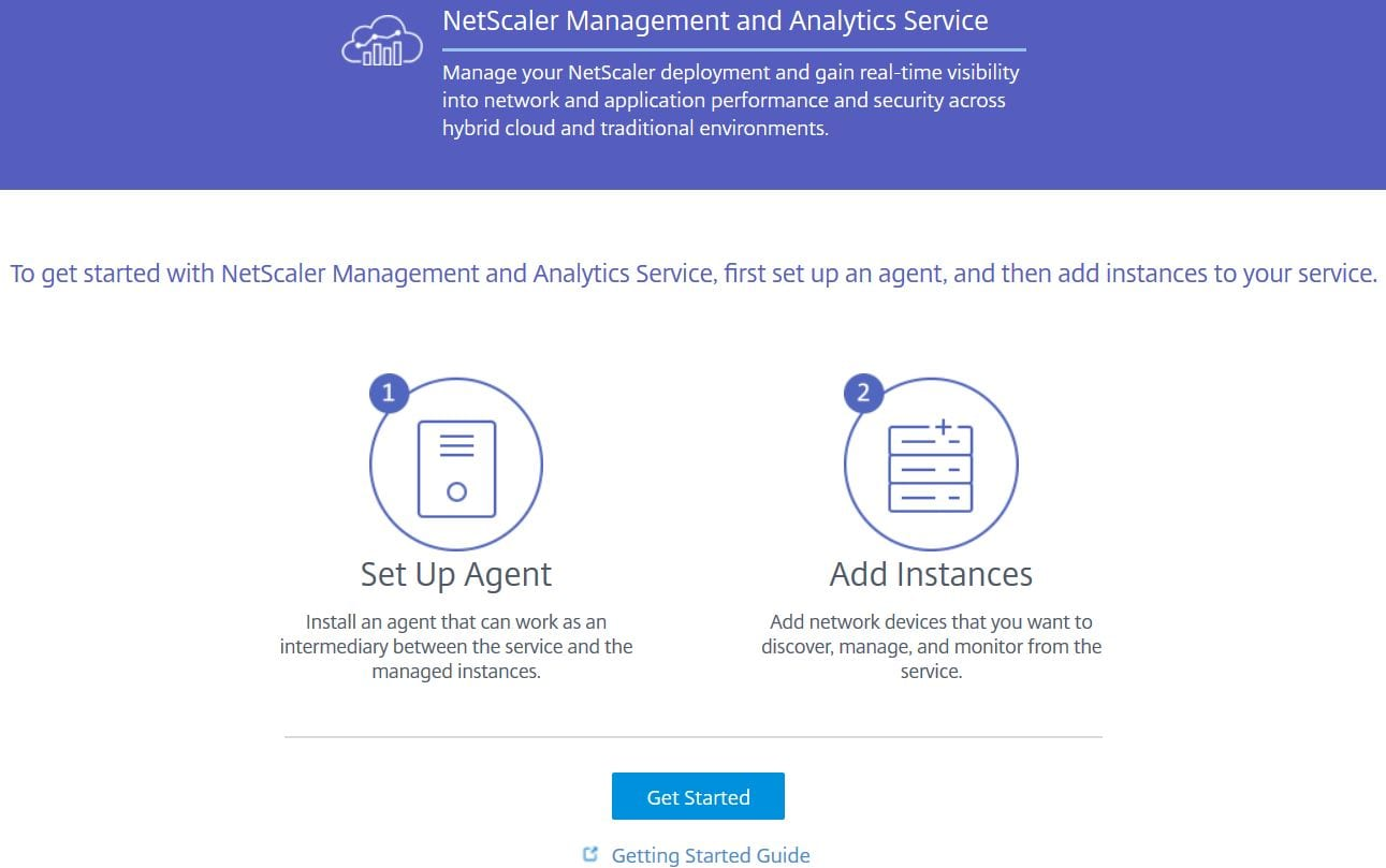 NetScaler Management and Analytics Service (MAS) – JGSpiers com