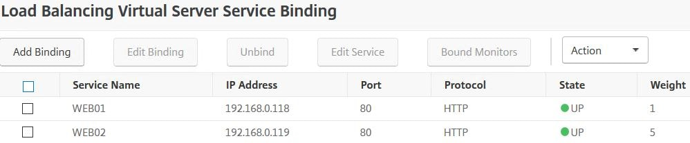 Taking a look behind NetScaler Load Balancing and