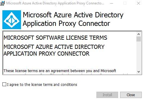 Azure AD Application Proxy – Access internal applications