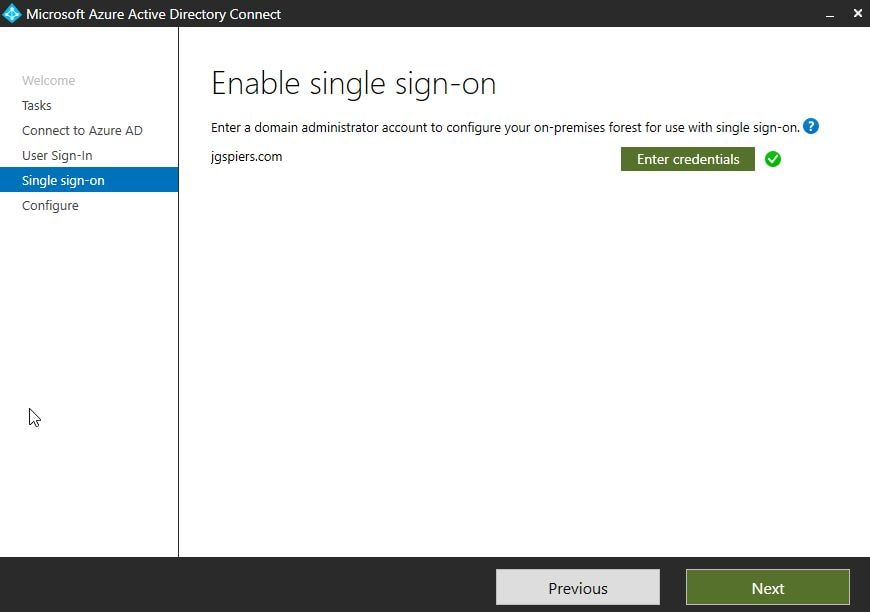 Azure AD Seamless Single Sign-on – JGSpiers com