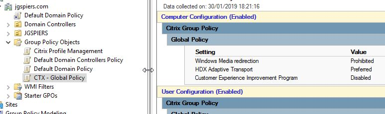 Move Citrix policies to Group Policy – JGSpiers com